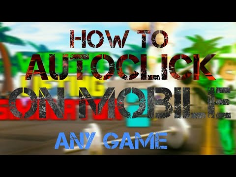 HOW TO AUTOCLICK ON IOS MOBILE ON ANY ROBLOX GAMES!! *NO HACK NO ROOT*