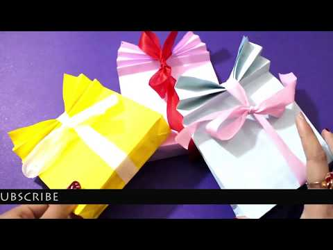DIY Gift bag / How to make paper Gift Bag at home / DIY Craft Queen