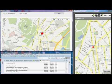 Android : Affichage de ma position GPS  avec VB.NET 2010 et PHP