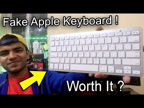 The Rs.750 Fake Apple Magic Keyboard For Android, iOS, Windows. Better Than Original ?