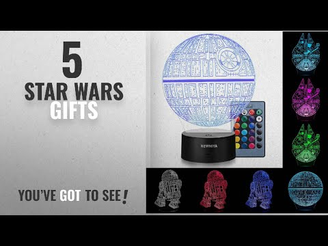 Top 10 Star Wars Gifts [2018]: 3D Illusion Star Wars Night Light, Three Pattern and 7 Color Change