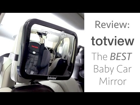 Totview The BEST Baby Car Mirror Review Installation