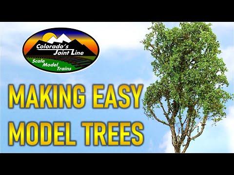 How To Make Realistic Trees - Train Layouts, Wargamming & Dioramas