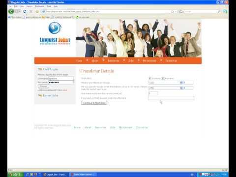 Sign-Up Guide for Online Translation Jobs