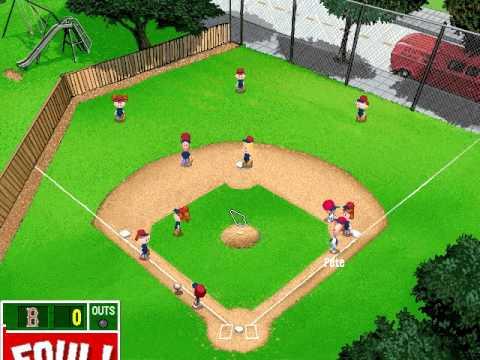Let's Play Backyard Baseball 2003 - Game 11: Boston Red Sox v. Philadelphia Phillies Part 1