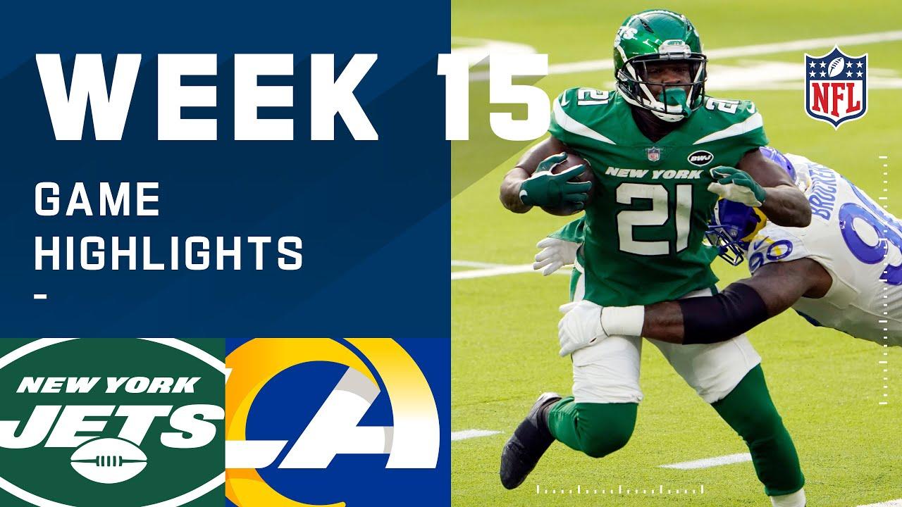Jets vs. Rams Week 15 Highlights   NFL 2020