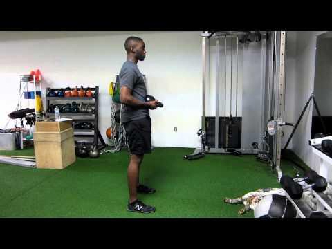 Toronto Personal Trainer - Bulgarian Goat Bag Swing