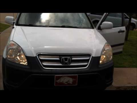 Headlight Bulb Replacement Service: 2005 Honda CR-V (high and low beams)