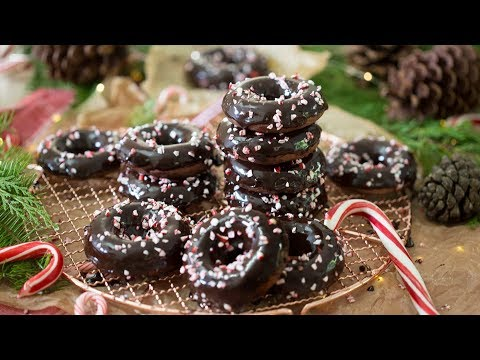How to Make Chocolate Peppermint Donuts