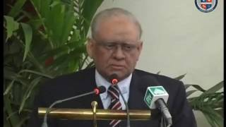 Governor Sindh Justice Saeed-uz-Zaman Siddiqui