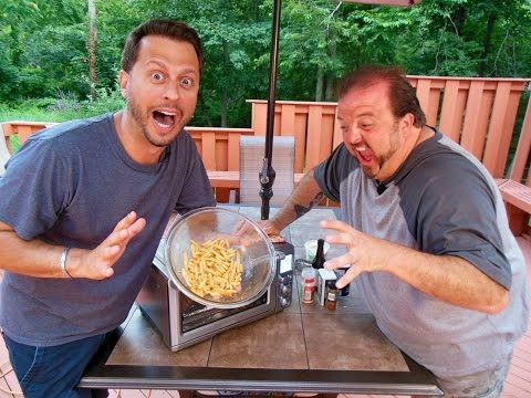 TONY LANDOLFI'S SLEAZY AND GREASY FRENCH FRIES: Big Meals, Small Places with Sal Governale
