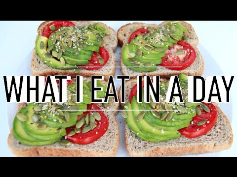WHAT I EAT IN A DAY #51 | VEGAN