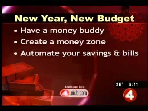 Organize budget, keep track of spending