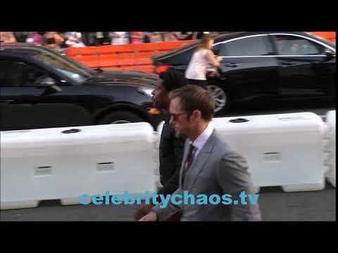 Actor Alexander Skarsgard arrives to IT movie premiere