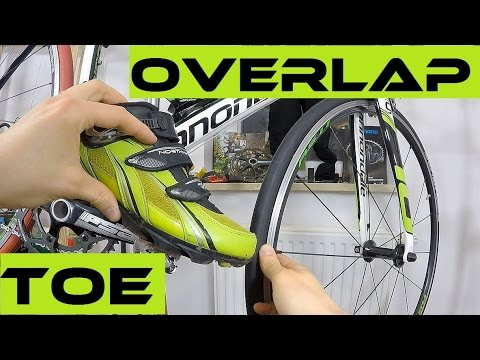 Frame Too Small? Toe Overlap Problem Solving. Bike Sizing / Fitting. Cannondany