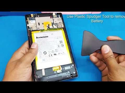 Lenovo Tab 2 A7-30 /Battery Replacement || How to open lenovo A7 Tab Back Panel