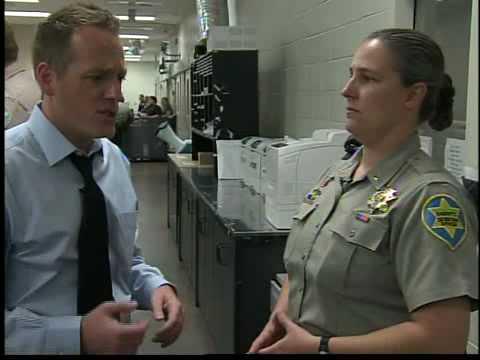 Rare look inside central Phoenix jail