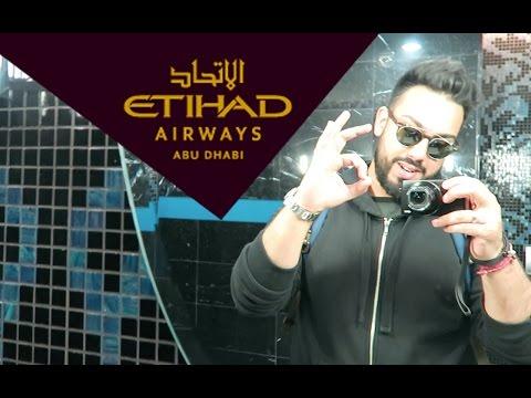 FLYING FREE ON ETIHAD AIRWAYS !!!