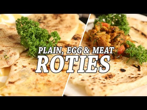 Roti Recipes ( Flat Sri Lankan Bread) | Mallika Joseph Food Tube