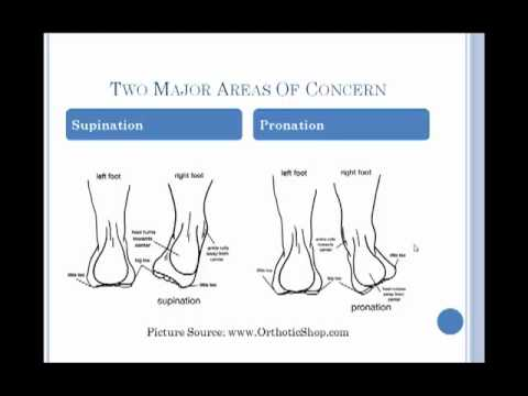 Pronation and running shoes