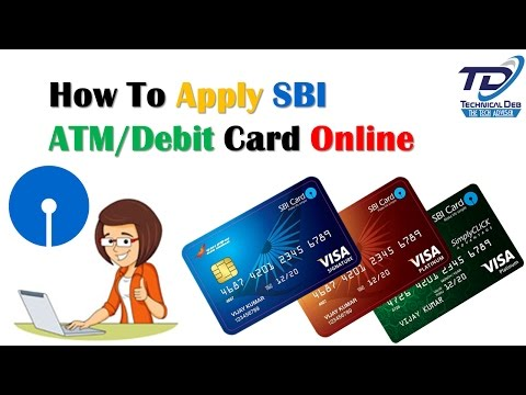 How To Apply SBI ATM/Debit Card Through Online (Hindi)