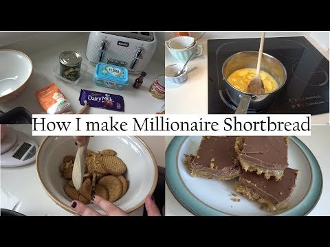 How I make Millionaire shortbread | Family Home Project