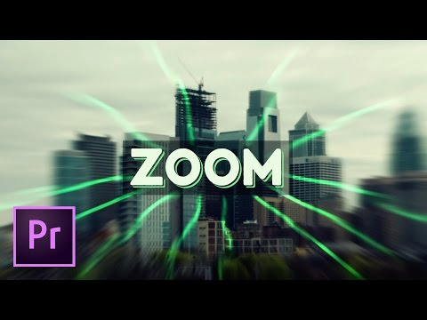The Best Blurred Zooming Transition Effect - Premiere Pro Tutorial