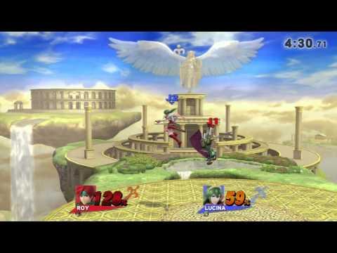 Clash of Fire Emblem - Roy vs Lucina & Marth (SSB4)