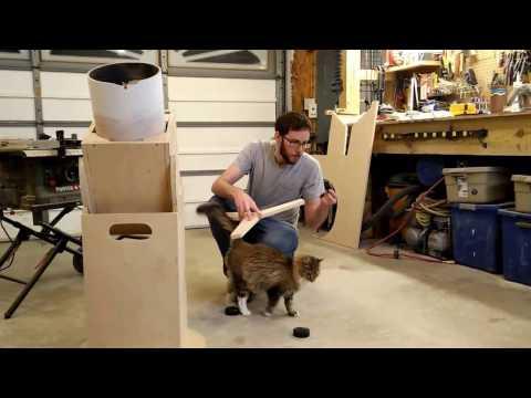 Building the telescope mount!