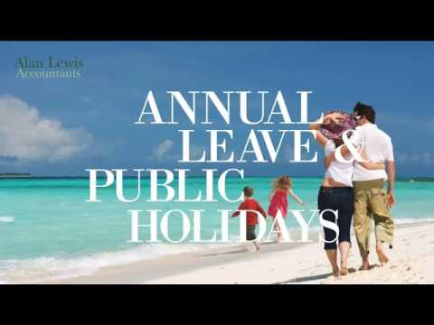 Annual Leave and Public Holidays