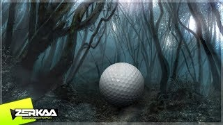 GOLF IN A HAUNTED WOODS! (Golf It)
