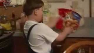 "A heavily obese 7-year-old called King Curtis appeared on the hit ABC show ""Wife Swap"" not too long ago, (S5E18) and by not too long, we"