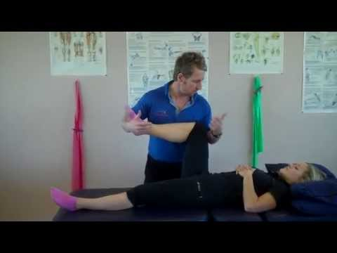 How to test for muscle strains of the Hip and Groin area