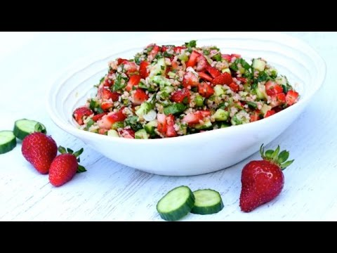 Strawberry Tabouli Salad | Clean&Delicious