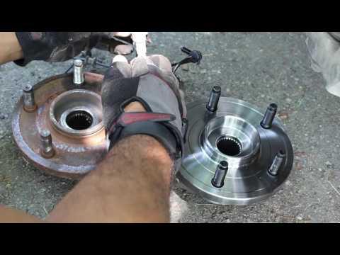 2005-2014 Jeep Grand Cherokee Front Wheel Bearing