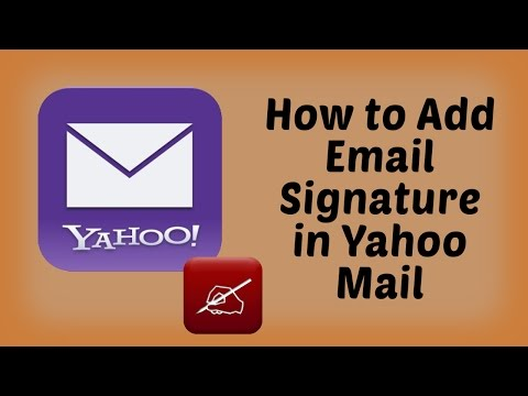 How to Add a Signature to Yahoo Mail | Yahoo Tutorials in Hindi