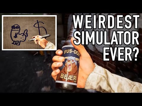 The Weirdest Simulation Game Yet? - Bum Simulator Trailer