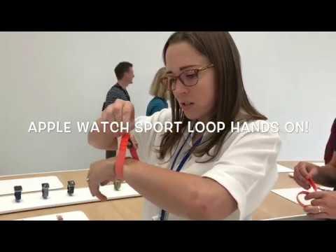 Apple Watch Sport Loop Hands On: A runner's new best friend