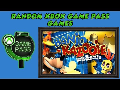 Banjo-Kazooie: Nuts & Bolts - Lets Play A Random Xbox Game Pass Game