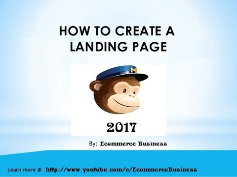How To Create A Landing Page | Build Best Landing Page 2017