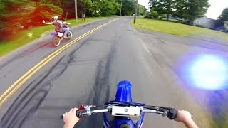 12 Minutes of Police Chase Getaways   Cops Vs Dirtbikes