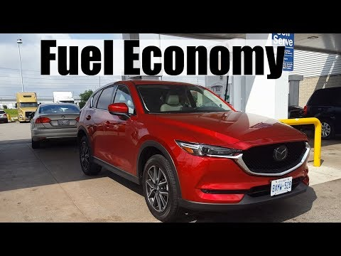 2017 Mazda CX-5 - Fuel Economy MPG Review + Fill Up Costs