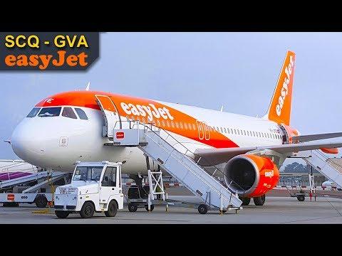 TRIP REPORT | Easyjet | Airbus A320 CEO | Santiago - Geneva