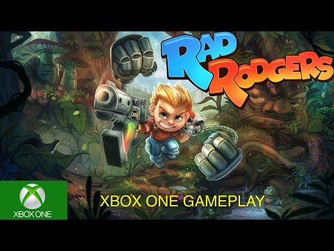 Rad Rodgers Gameplay on XBox One