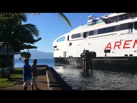 FERRY AREMITI 2 TAHITI - MOOREA