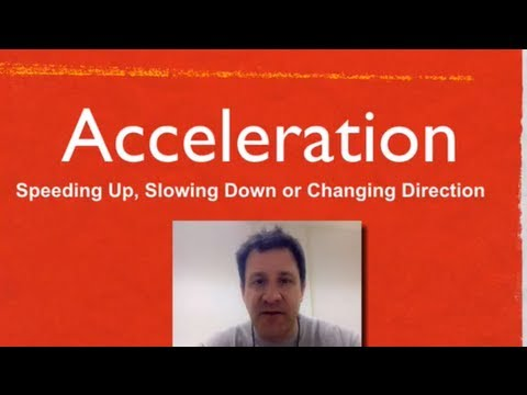 Acceleration, An Explanation