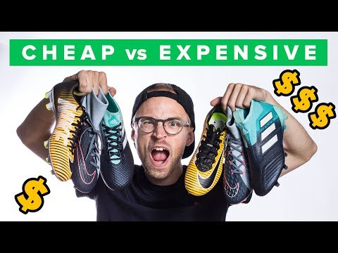 CHEAP vs EXPENSIVE FOOTBALL BOOTS - which to buy?