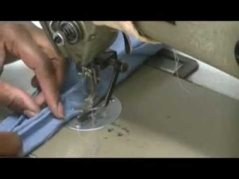 How to make men Reversible Ascots tie part 2