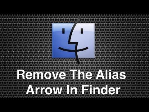 Remove The Alias Icon Arrow From Files In Mac OS X