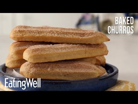 Healthier Baked Churros | EatingWell